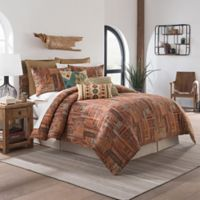 Sedona Castleton King Comforter Set in Red