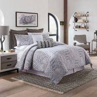 Sedona Lazar Queen Comforter Set in Grey