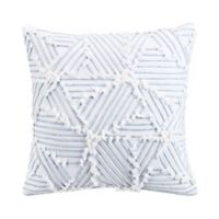 Sedona Lazar 18-Inch Square Throw Pillow in White