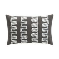Sedona Lazar Oblong Throw Pillow in Grey