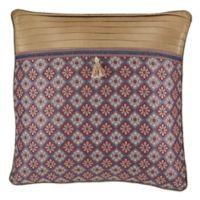 Croscill® Margaux European Pillow Sham in Red/Blue