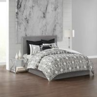 N Natori® Shandong Full/Queen King Duvet Cover Set in Black