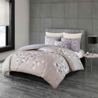 N Natori® Sakura Blossom Printed Full/Queen Comforter Set in Lilac