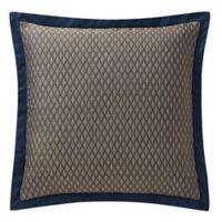 Waterford® Asher European Pillow Sham in Navy/Bronze