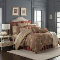 Waterford® Jonet Queen Comforter Set in Spice
