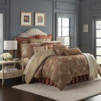 Waterford® Jonet King Comforter Set in Spice
