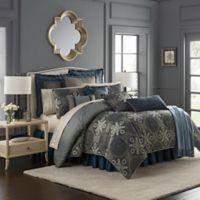 Waterford® Jonet California King Comforter Set in Indigo