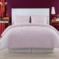 Christian Siriano Pretty Petals King Comforter Set in Pink