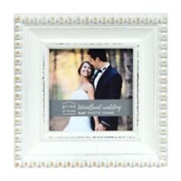 Prinz Woodland Wedding 4-Inch x 6-Inch Picture Frame in White