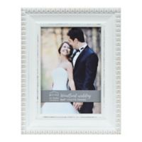 Prinz Woodland Wedding 5-Inch x 7-Inch Picture Frame in White