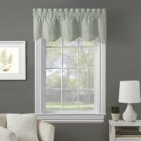 Fairview Embroidered Window Valance in Sage