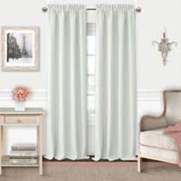 Adaline 95-Inch Rod Pocket Blackout Window Curtain Panel in Pearl Grey