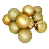 Northlight® 36-Pack Christmas Ball Ornaments in Gold