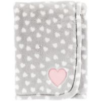 carter's® Heart Velboa Receiving Blanket