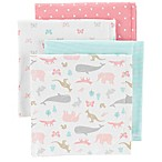 carter's® 4-Pack Butterfly Flannel Receiving Blankets