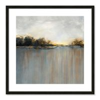 Casa Fine Arts Rainy Sunset I 23.5-Inch Square Framed Wall Art