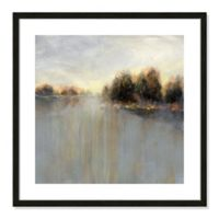 Casa Fine Arts Rainy Sunset II 23.5-Inch Square Framed Wall Art