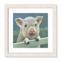 Herbie 18-Inch Square Framed Wall Art