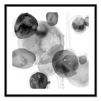 Droplets 32-Inch Framed Wall Art