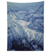 Deny Design Leah Flores Winter Mountain Range 80-Inch x 60-Inch Tapestry