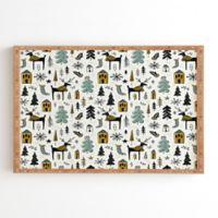 Deny Designs Wonderland 20-Inch Square Framed Wall Art