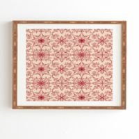 Deny Designs Snowflake 14-Inch x 16.5-Inch Framed Wall Art