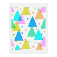 Deny Designs Dash and Ash Very Merry and Bright 11-Inch x 14-Inch Art Print