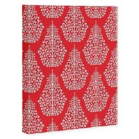 Deny Designs Spirit 16-Inch x 20-Inch Canvas Wall Art in Red
