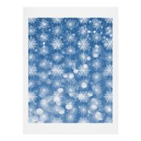 Deny Designs Flurries 11-Inch x 14-Inch Print Wall Art