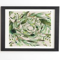 Deny Designs Nature 8-Inch x 9.5-Inch Framed Wall Art