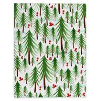 Deny Designs Christmas Tree Farm 8-Inch x 10-Inch Canvas Wall Art