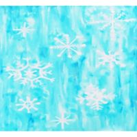 Deny Designs Snowing 18-Inch x 24-Inch Wall Art