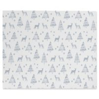 Deny Designs Little Arrow Design Co Nordic Winter Canvas 8-Inch x 10-Inch Wall Art in White