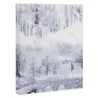 Deny Designs Snow Queen 8-Inch x 10-Inch Canvas Wall Art