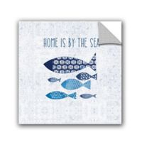 Studio Pela Coastal Vinyl 10-Inch x 10-Inch Wall Art in Blue