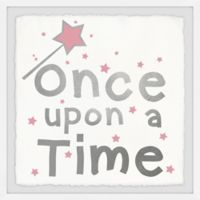 Marmont Hill Once upon a Time Sparkle 12-Inch Squared Framed Wall Art