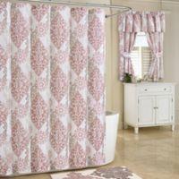 Galileo 78 Inch X 54 Shower Curtain In Blush