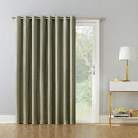 Armin 95-Inch Grommet Room Darkening Extra-Wide Door Curtain Panel in Hazel