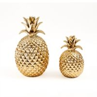 Two's Company® Golden Hospitality 2-Piece Ceramic Jar Set