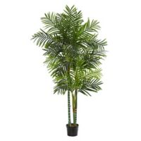 Nearly Natural 7.5-Foot Artificial Areca Palm Tree in Planter