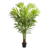Nearly Natural 8-Foot Artificial King Palm Tree