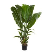 Nearly Natural 8.5-Foot Artificial Giant Travelers Palm Tree