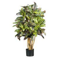 Nearly Natural 3-Foot Artificial Croton Tree