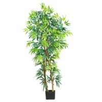 Nearly Natural 5-Foot Artificial Fancy Bamboo Tree