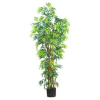Nearly Natural 6-Foot Artificial Fancy Bamboo Tree