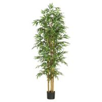 Nearly Natural 75-Inch Artificial Bamboo Tree