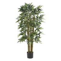 Nearly Natural 4-Foot Artificial Biggy Bamboo Tree