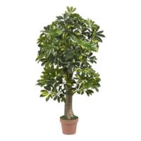 Nearly Natural 4-Foot Artificial Schefflera Tree