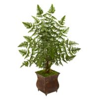 Nearly Natural 3-Foot Palm Tree Planter