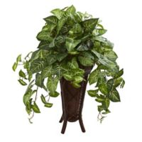 Nearly Natural 34-Inch Nepthytis Plant with Planter
